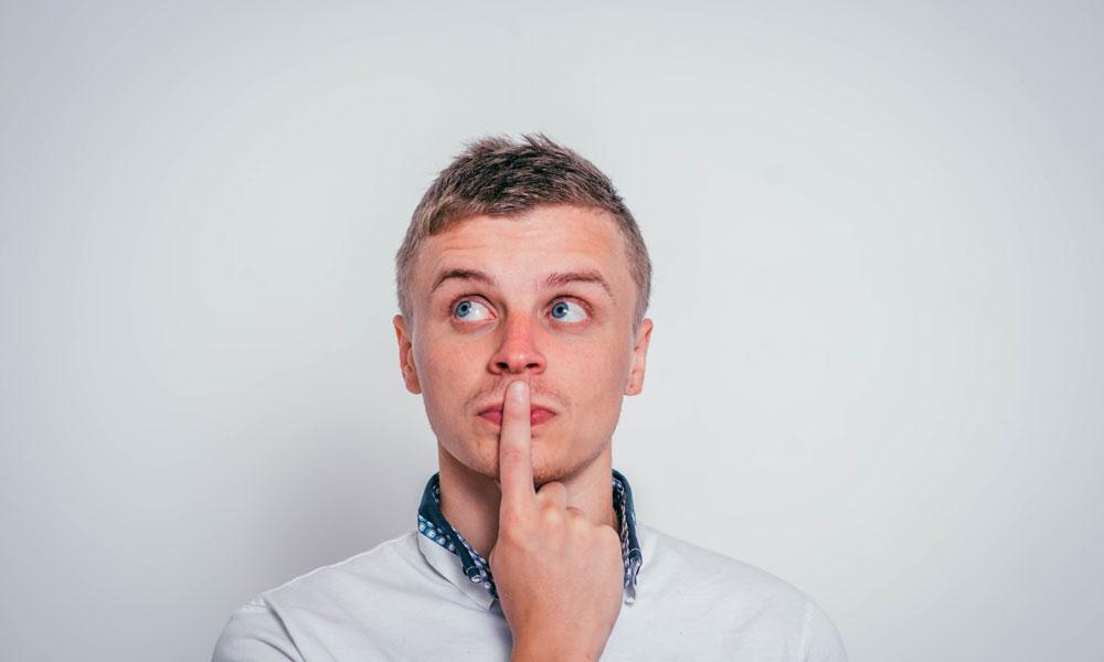man wondering how ketamine treatement works